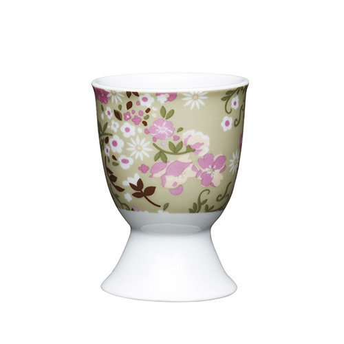 Kitchen Craft - Porcelain Egg Cup - Floral Meadow