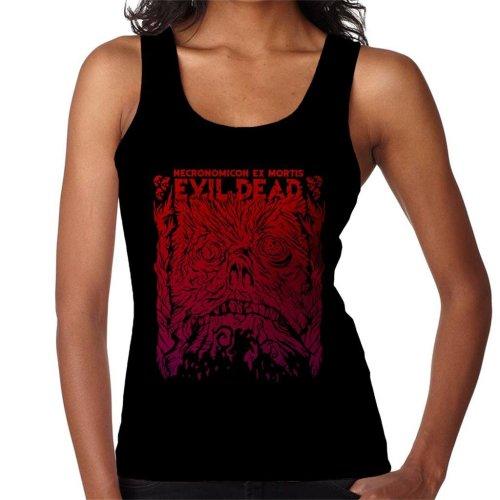 Necronomicon Ex Mortis Evil Dead Women's Vest