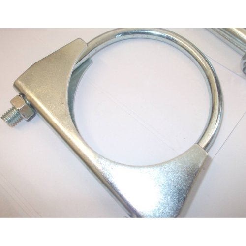 universal exhaust u clamp bolt heavy duty TV aerial pipe hose 36mm x 15, Pk x 15