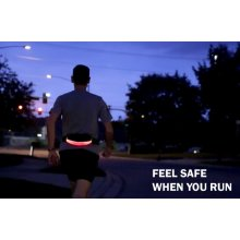 LED Waistpack Running Belt Prewired for Charging Iphone 6 or Larger