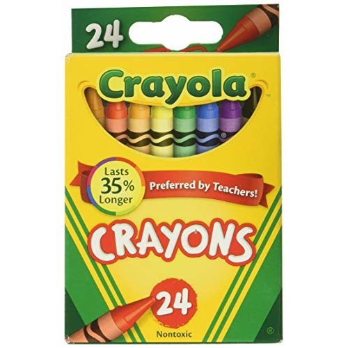 Crayola Crayons 24 in a Box Pack of 6 144 Crayons in Total
