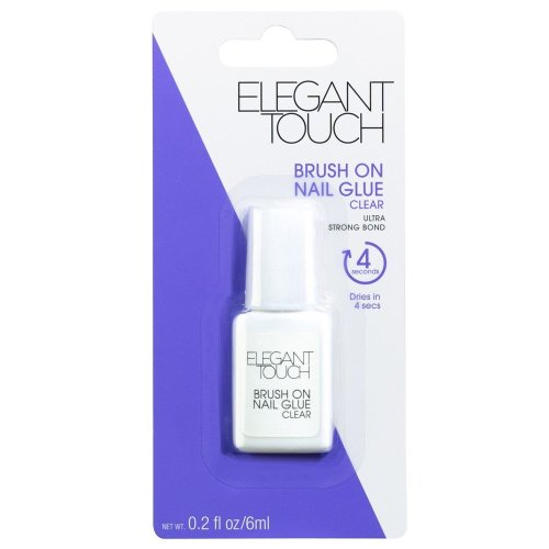 Elegant Touch Brush On Nail Glue 6ml