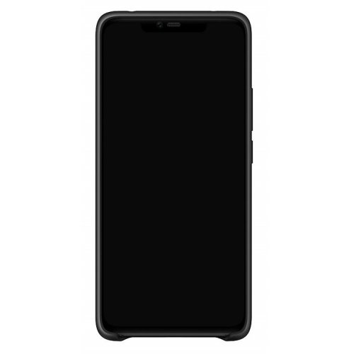 Official Huawei Mate 20 Pro Black Silicon Protective Case Cover Black