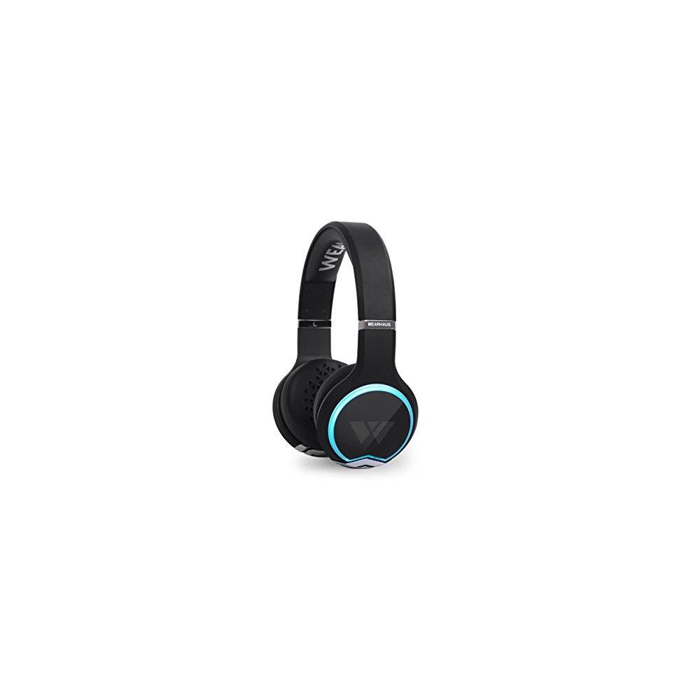 4207c59d6b9 Wearhaus Arc Bluetooth Headphones, Best On-Ear HD Stereo w/ Custom Light  Ring ...
