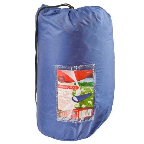 Adult 3 Season Sleeping Bag Camping Summer Festival - Blue CMP21