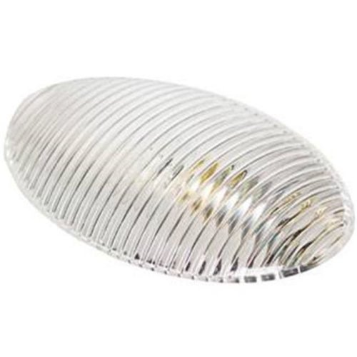 Oval Lens for Porch Light, Clear