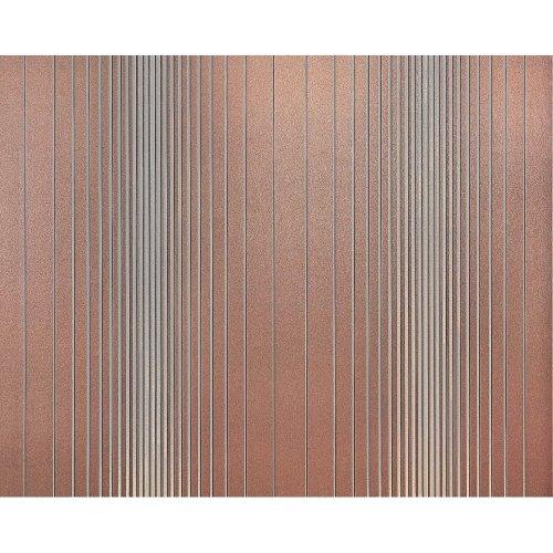 EDEM 934-34 non-woven striped wallpaper XXL brown silver metallic 10.65 sqm