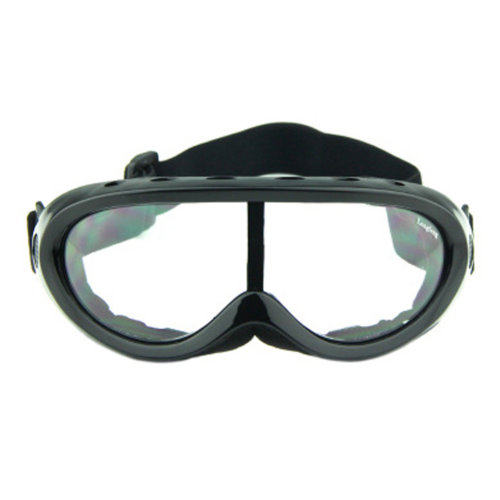 Snow Goggles Windproof Eyewear Ski Sports Goggle Protective Glasses Black/Clear