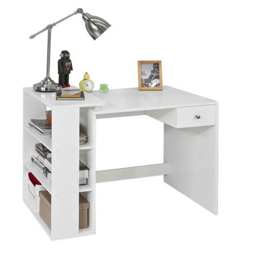 SoBuy® FWT35-W, Home Office Table Desk Computer Desk Workstation