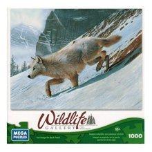 Mega Puzzles - Wildlife Gallery - Arctic Wolf - 1000 Pc by Mega Puzzles