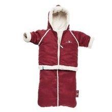 Wallaboo Baby Winter Fleece - Red 6-12 Months