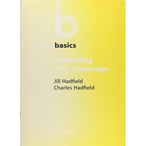 Presenting New Language (oxford Basics)
