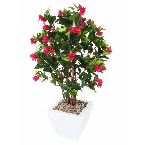 """Closer2Nature Artificial 3ft 2"""" Magenta Bougainvillea Tree - Portofino Planter Not Included"""