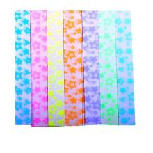 Lovely 420 Sheets Colorful Star Folding Paper 7 Colors