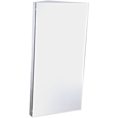 Homcom Wall Mounted Bathroom Corner Mirror Storage