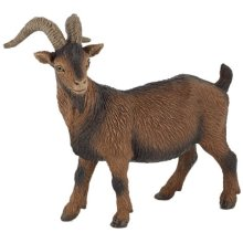 Brown Billy Goat - Papo Figure New Farmyard Friends -  papo brown billy goat figure new farmyard friends