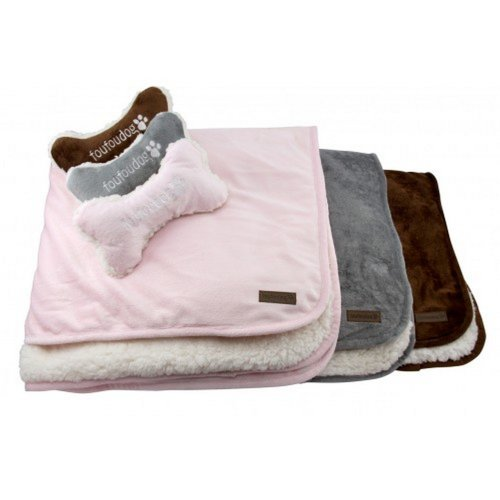 Fou Fou Dog Luxe Sherpa Puppy Blanket (Pack Of 3)