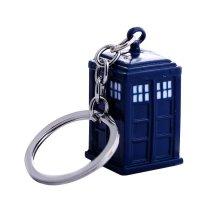 Doctor Who TARDIS Metal Keyring | TARDIS Keychain