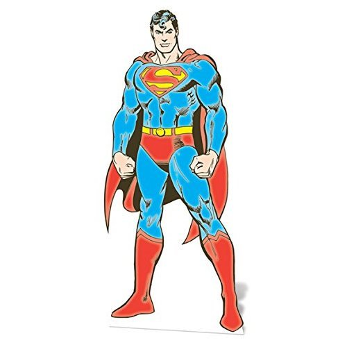 "Star Cutouts SC636 ""Superman DC Comics"" Cardboard Cut out"