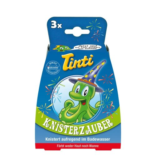 Tinti Crackling Bath Pops Knisterbad (Pack of 3)