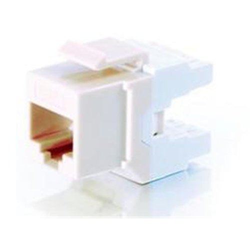 CABLES TO GO 35209 CAT6 180 KEYSTONE JACK IVORY