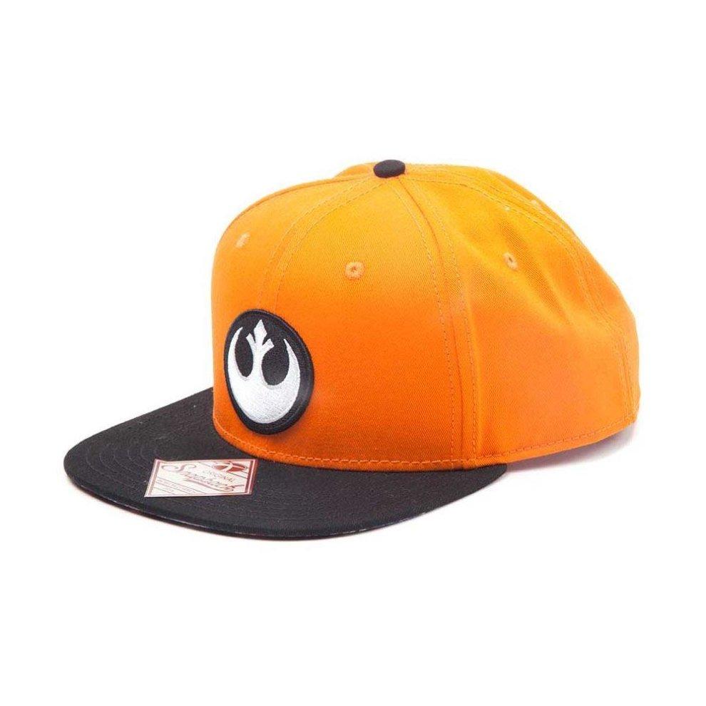 ... Star Wars Resistance Logo Embroidered Patch Snapback Baseball Cap  Orange Black - 3.   865ade28988f