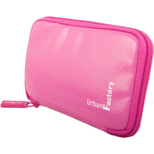 Urban Factory HDD14UF Portable Hard Drive Case Sleeve Vinyl Pink HDD14UF