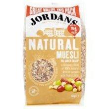 Jordans Natural Muesli 1000g