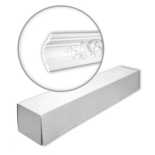 Profhome 150252 Cornice moulding 1 Box 4 pieces | 8 m
