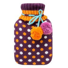 Warm Cute Hot-Water Bottle Water Bag Water Injection Handwarmer Pocket Cozy Comfort,L