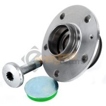 Vw Golf Mk5 2003-2009 Rear Hub Wheel Bearing Kit Inc Abs Ring