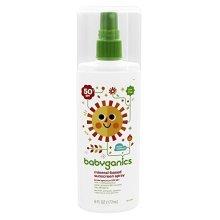 BabyGanics Cover Up Baby Sunscreen Spray 50SPF