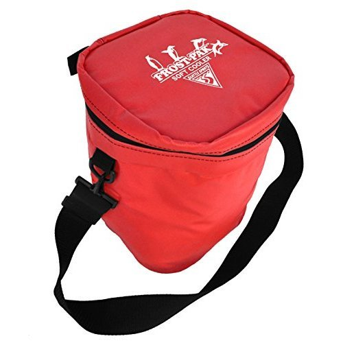 Built U S A Seattle Sports Frost Pack 12 Quart Soft Cooler Red