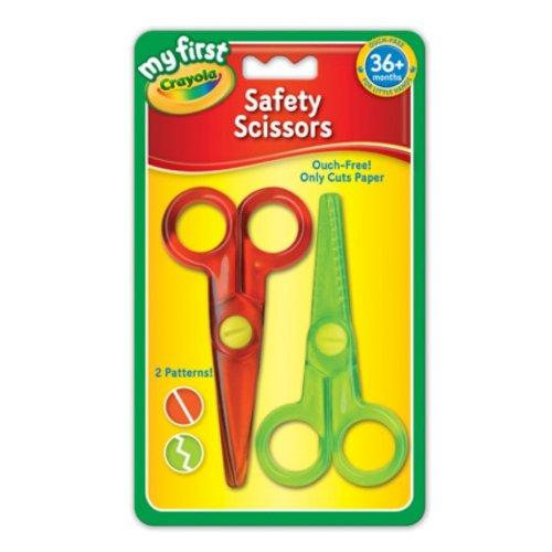 Crayola Scissors My First Plastic Children's Safety Scissors - 2 Pack