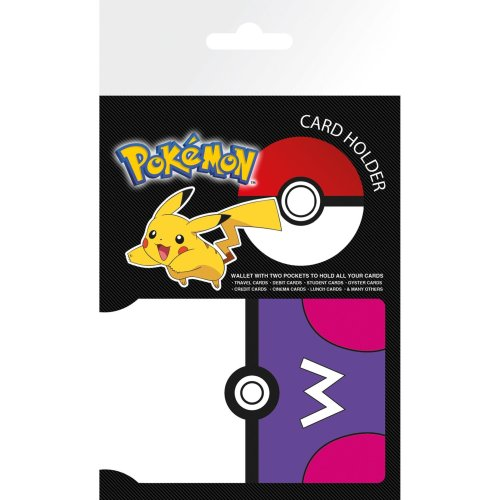 Pokemon Masterball Travel Pass Card Holder