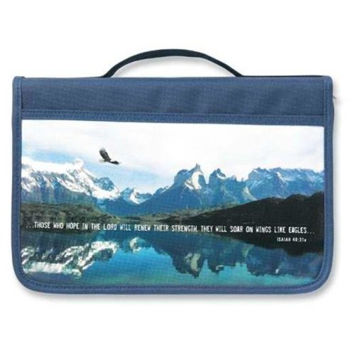 Zondervan Gifts 11444 Bi Cover Inspiration Eagle Canvas Large