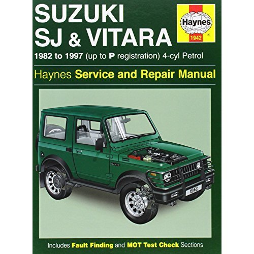 Suzuki SJ410/SJ413 (82-97) & Vitara Service and Repair Manual (Haynes)