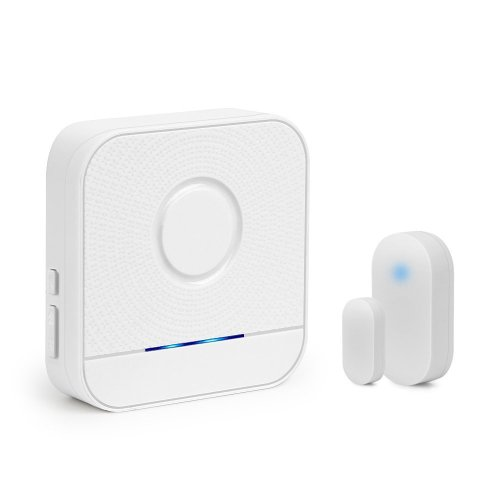 Wireless Door Sensor Alarm Chime, BITIWEND Home Security Window Entry Alert With Operating Range 320 feet/52 Chimes For Home/Garage/Shop (1...