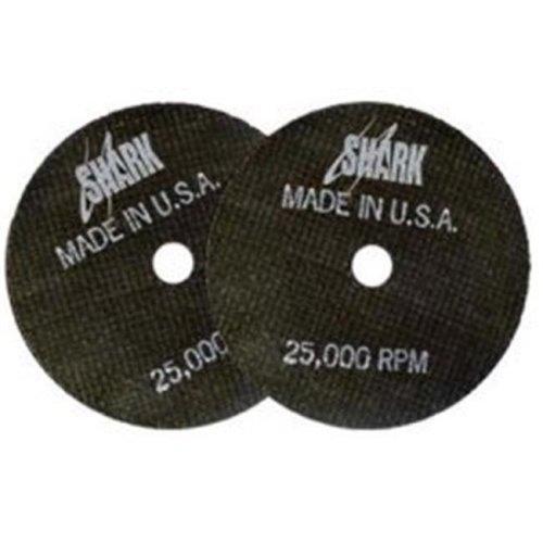 Shark Industries Ltd 12702 3 x 0.0625 x 0.25 in. Double Reinforced Cut-off Wheels