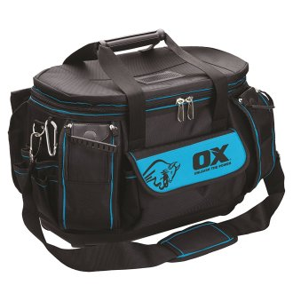 OX Pro Round Top Tool Bag   Multi Pocket Tool Organiser