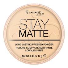Rimmel London Stay Matte Pressed Powder | Transparent