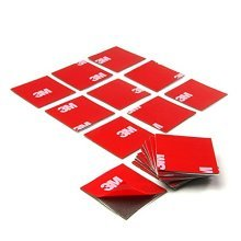 3M VHB 4229P Double-Sided Assembly Adhesive Pads 25 x 25 mm (Pack of 20)