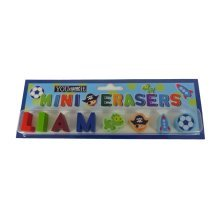 Childrens Mini Erasers - Liam