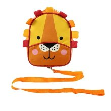 Backpack and Reins Lion