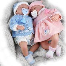 "20"" Lifelike Reborn Baby Doll   Handmade Sleeping Baby Doll"
