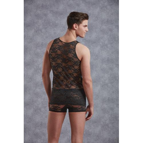 Doreanse Body Men - Black Small Men's Lingerie Shirts - Doreanse