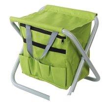 Silverline Folding Garden Stool 360 x 280 x 360mm - 498298 -  x folding stool garden 360 silverline 280 498298 360mm