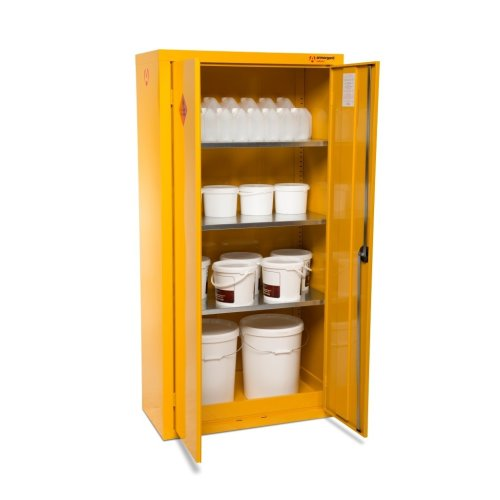 Armorgard SafeStor HFC7 Secure Chemical Storage Cabinet - 900 x 465 x 1040mm