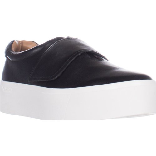 Calvin Klein Jaiden Slip-On Fashion Sneakers, Black, 6 UK