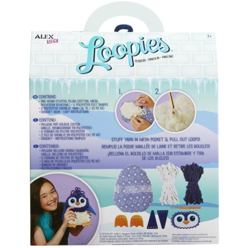 Alex DIY Loopies-Penguin